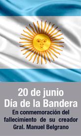 20 de Junio - Día de la Bandera