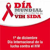 1° de diciembre Día Internacional de la lucha con el HIV