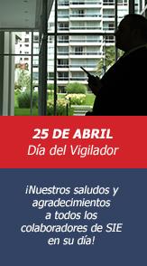25 de abril - dia del vigilador