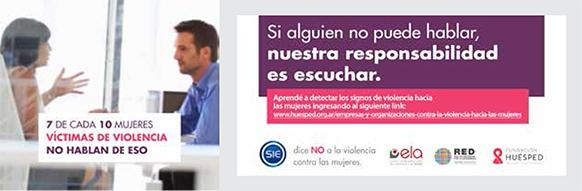 7 de cada 10 mujeres víctimas de violencia no hablan de eso